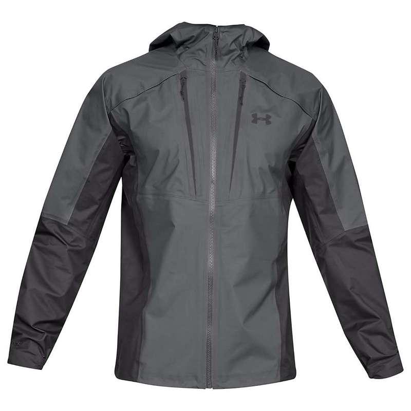 アンダーアーマー メンズ ジャケット・ブルゾン アウター Under Armour Men's Atlas Gore Active Jacket Graphite / Charcoal / Charcoal