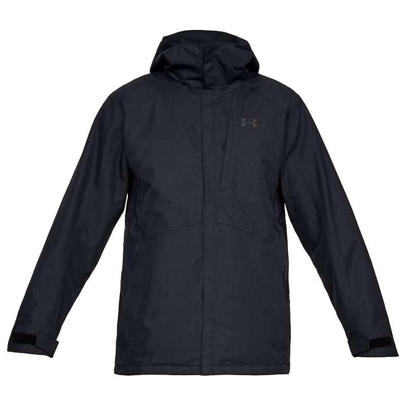 アンダーアーマー メンズ ジャケット・ブルゾン アウター Under Armour Men's Navigate Jacket Black / Charcoal