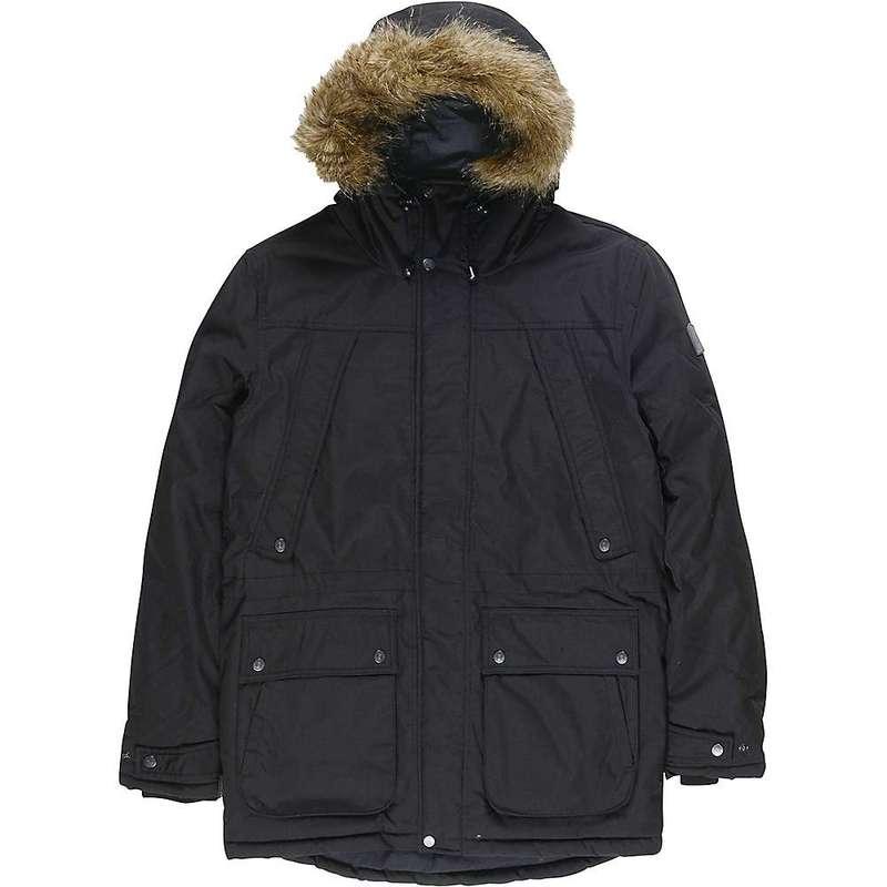 エレメント メンズ ジャケット・ブルゾン アウター Element Men's Fargo Jacket Flint Black