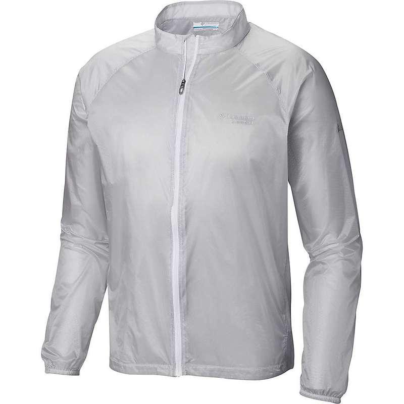コロンビア メンズ ジャケット・ブルゾン アウター Columbia Men's F.K.T. Wind Jacket Cool Grey Embossed Print / White Zip