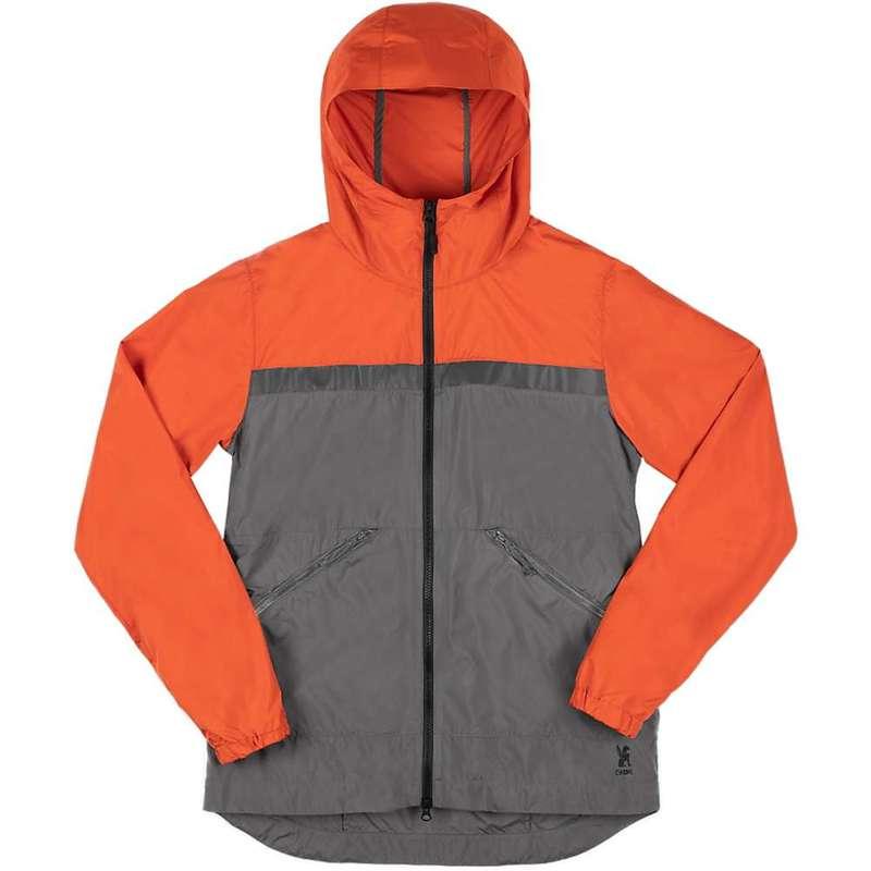 クローム インダストリーズ メンズ ジャケット・ブルゾン アウター Chrome Industries Men's Kenton Packable Wind Shell Mecca Orange/Castle Rock