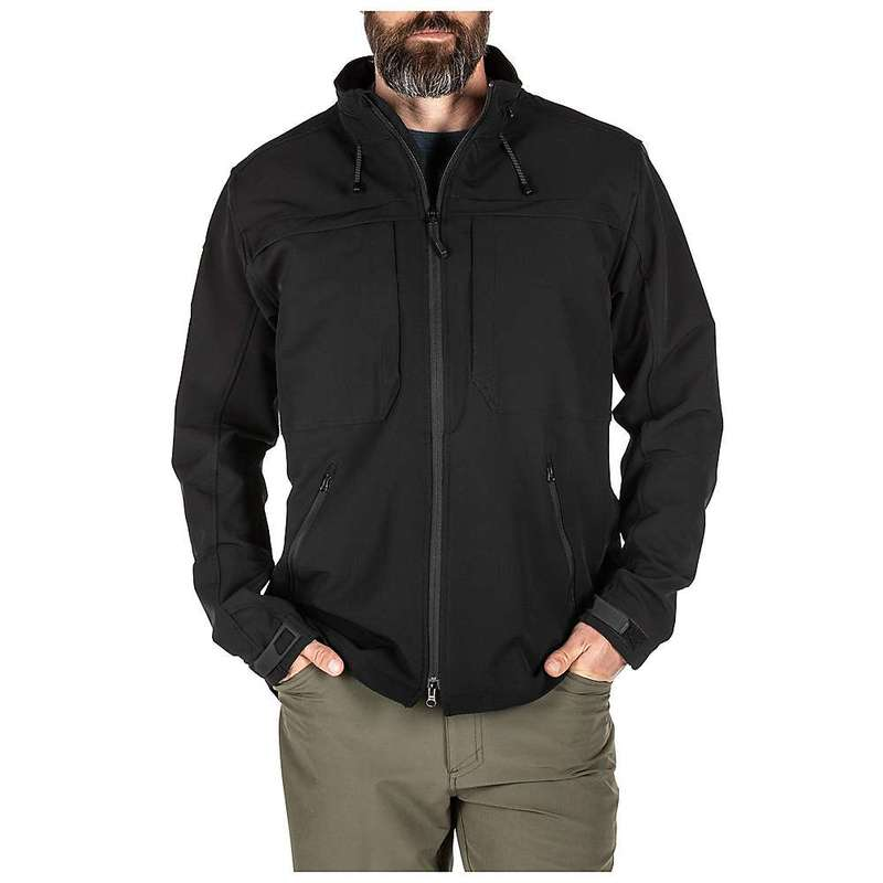 5.11 タクティカル メンズ ジャケット・ブルゾン アウター 5.11 Tactical Men's Braxton Jacket Black