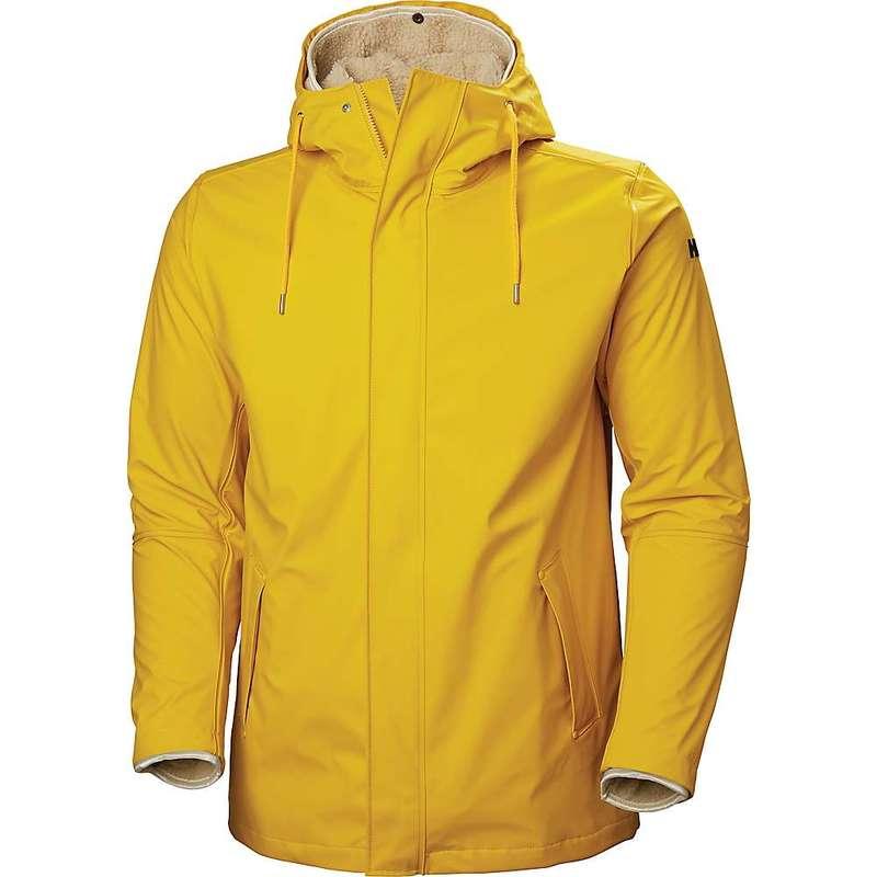ヘリーハンセン メンズ ジャケット・ブルゾン アウター Helly Hansen Men's Moss Insulated Rain Coat Essential Yellow