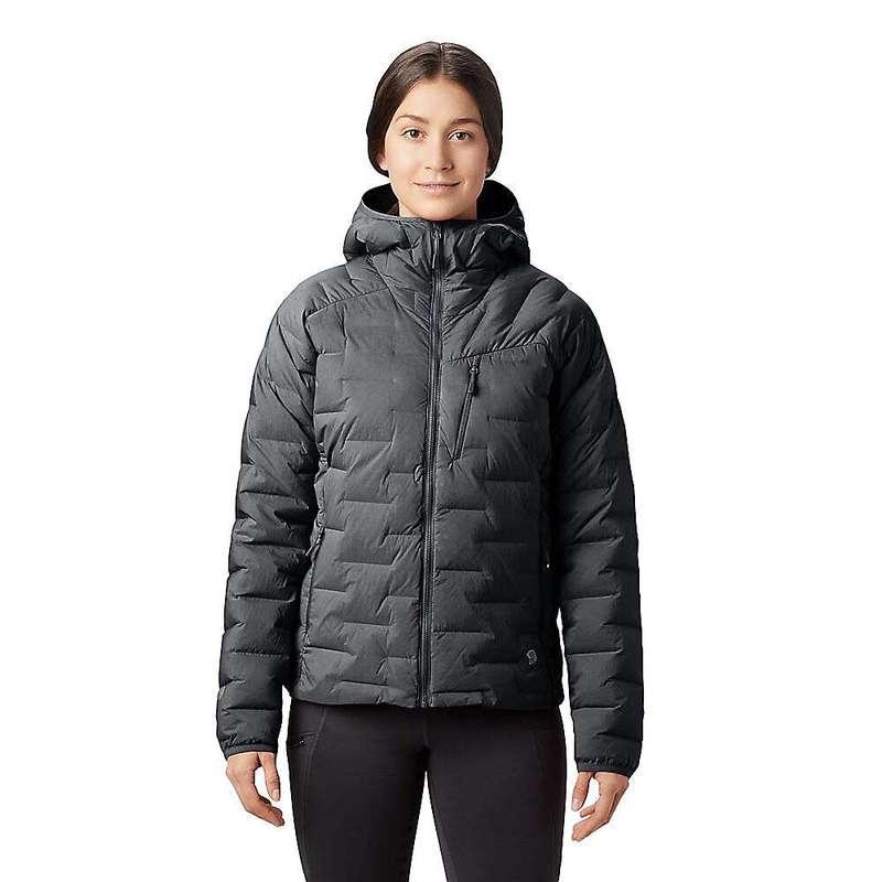 マウンテンハードウェア レディース ジャケット・ブルゾン アウター Mountain Hardwear Women's Super/DS Hooded Jacket Dark Storm