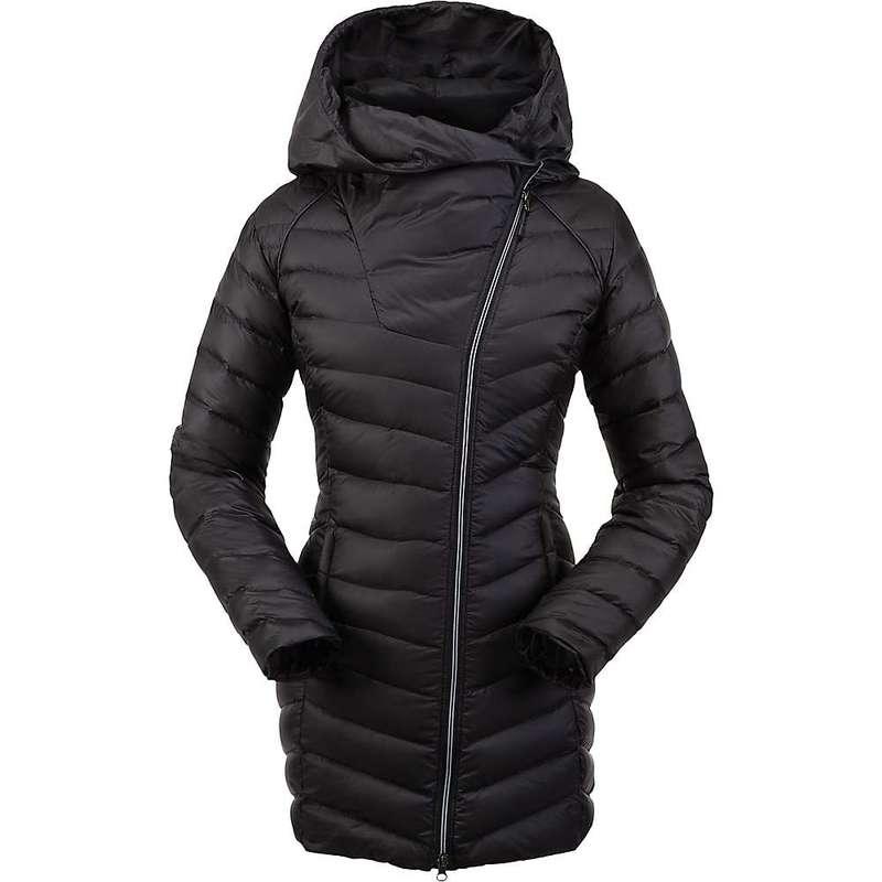 スパイダー レディース ジャケット・ブルゾン アウター Spyder Women's Timeless Long Down Jacket Black