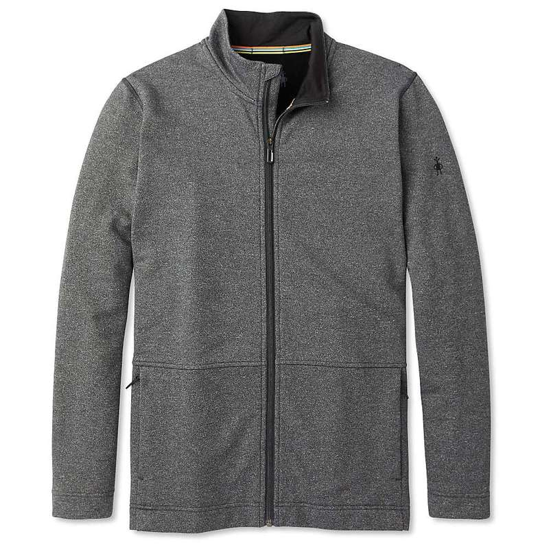 スマートウール メンズ ジャケット・ブルゾン アウター Smartwool Men's Merino Sport Fleece Full Zip Jacket Charcoal Heather