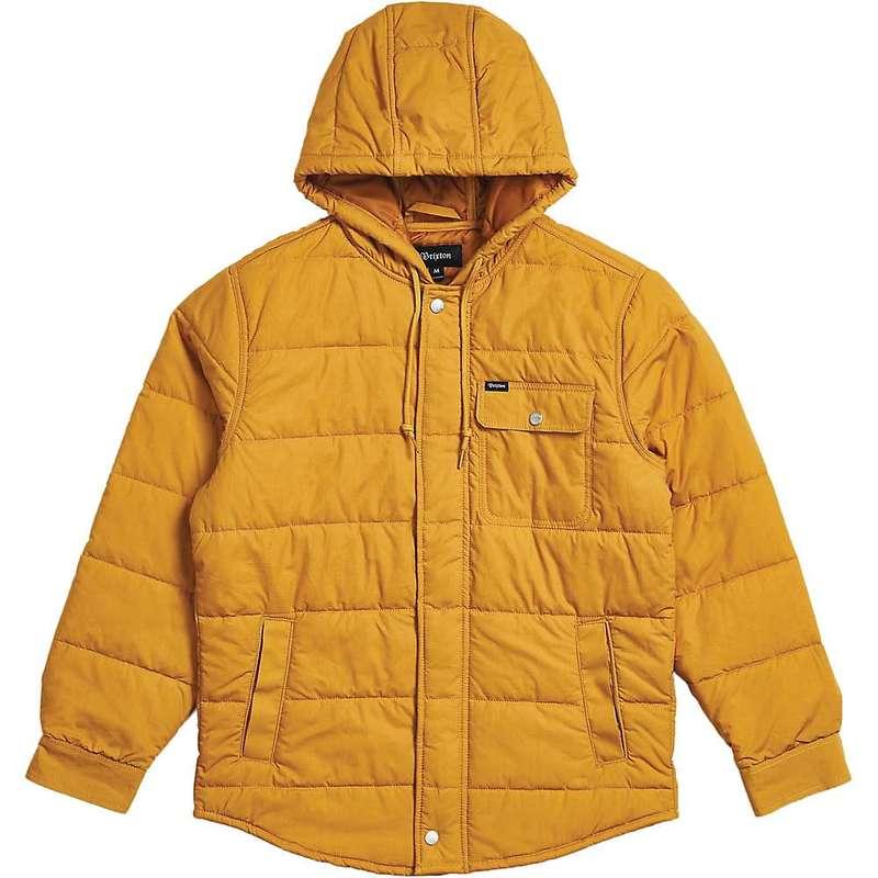 ブリクストン メンズ ジャケット・ブルゾン アウター Brixton Men's Cass Hood Jacket Maize