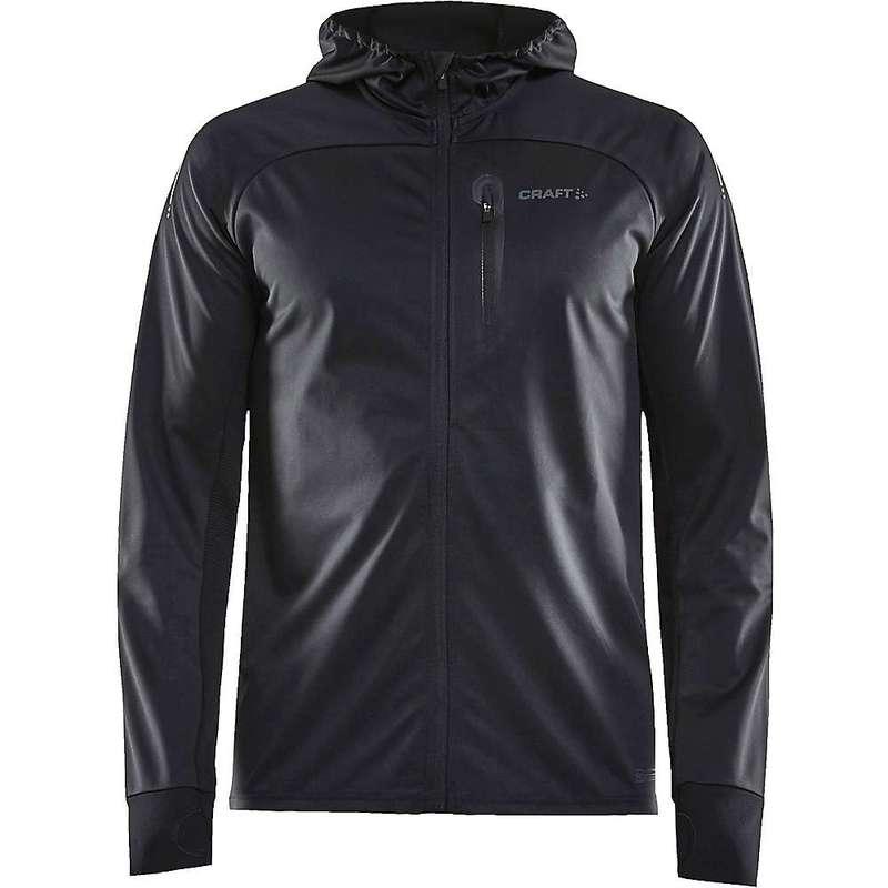 クラフトスポーツウェア メンズ ジャケット・ブルゾン アウター Craft Men's Wind Fuseknit Jacket Black