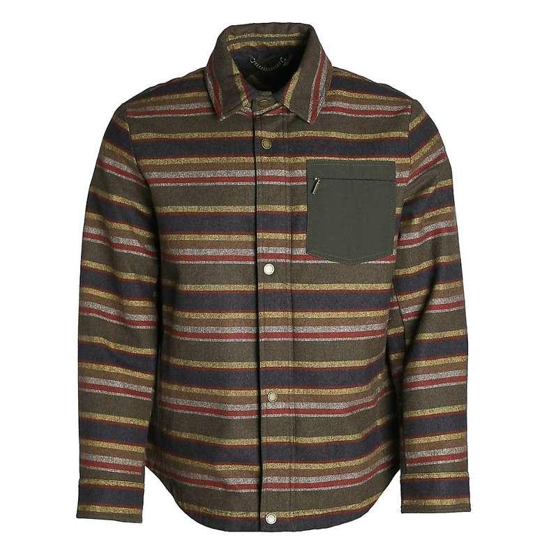 ペンドルトン メンズ ジャケット・ブルゾン アウター Pendleton Men's Conway Shirt Jacket Olive Stripe