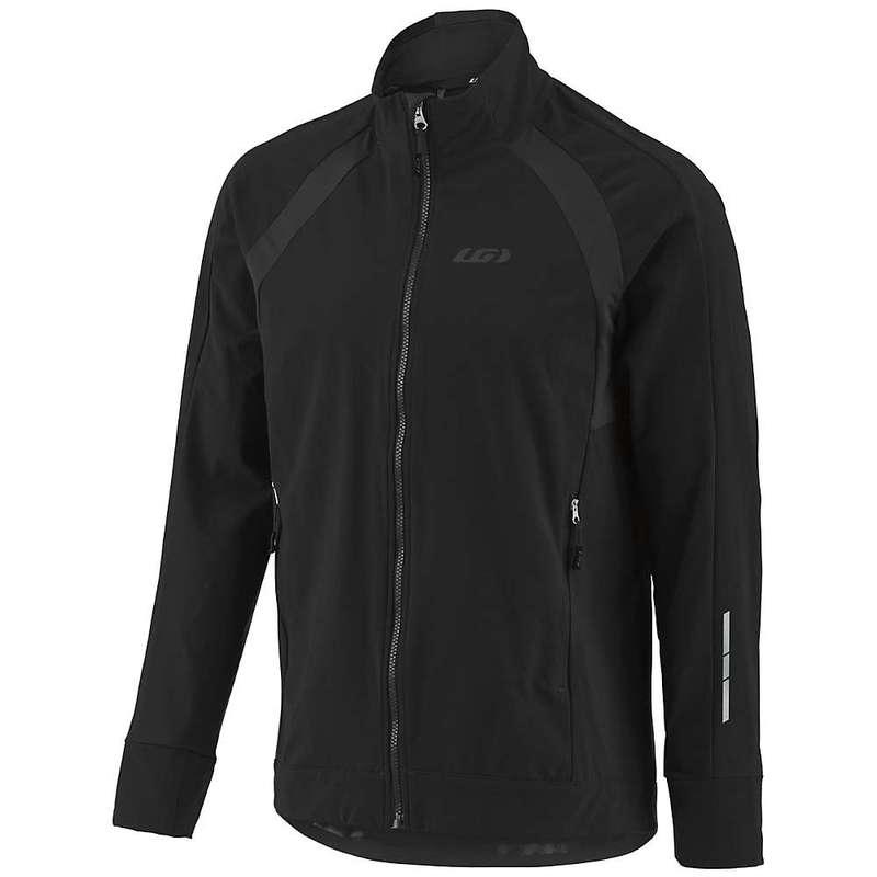 イルスガーナー メンズ ジャケット・ブルゾン アウター Louis Garneau Men's Dualistic Jacket Black