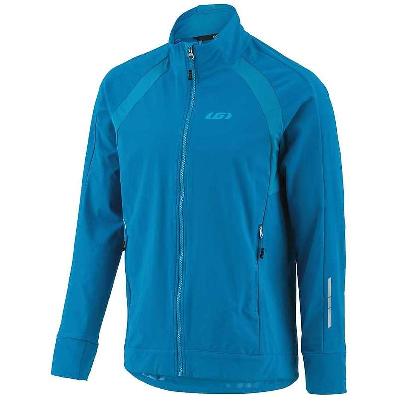 イルスガーナー メンズ ジャケット・ブルゾン アウター Louis Garneau Men's Dualistic Jacket Mykonos Blue