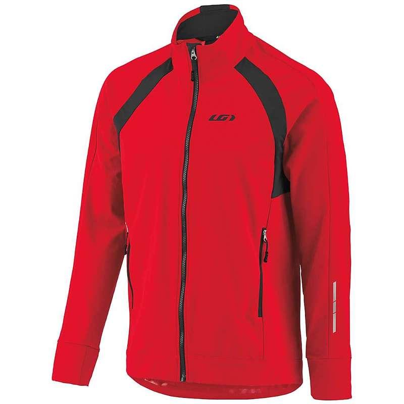 イルスガーナー メンズ ジャケット・ブルゾン アウター Louis Garneau Men's Dualistic Jacket Red/Black