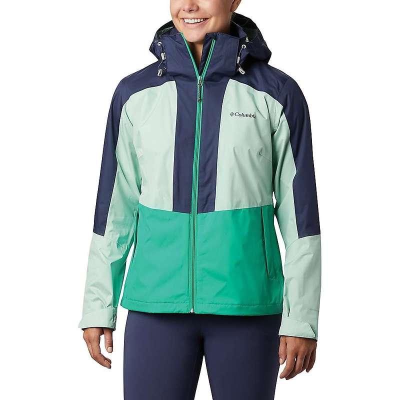 コロンビア レディース ジャケット・ブルゾン アウター Columbia Women's Windgates Jacket Dark Lime/New Mint/Nocturnal
