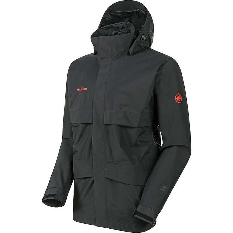 マムート メンズ ジャケット・ブルゾン アウター Mammut Men's Heritage HS Hooded Jacket Black