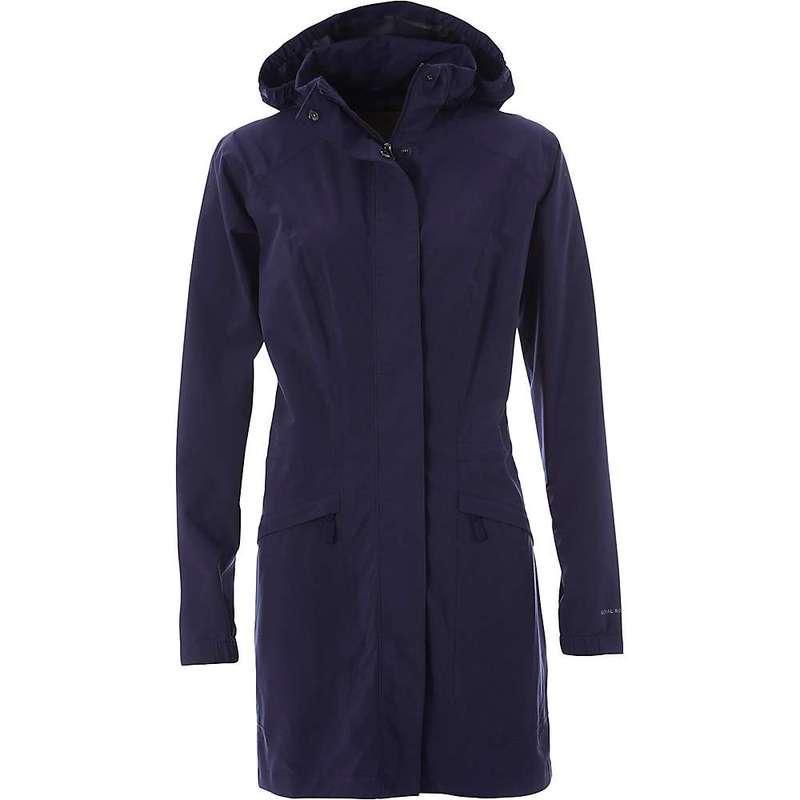 ロイヤルロビンズ レディース ジャケット・ブルゾン アウター Royal Robbins Women's Oakham Waterproof Trench Jacket Ink Blue