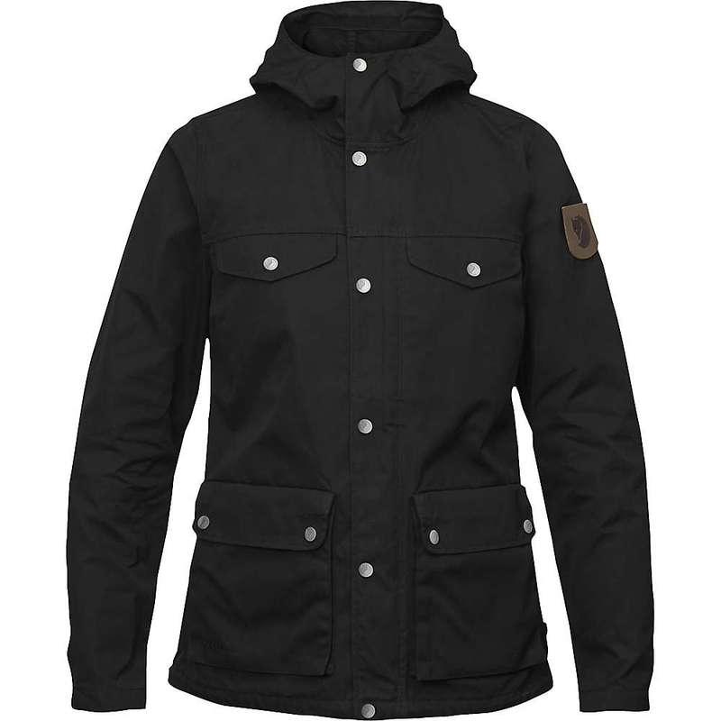 フェールラーベン レディース ジャケット・ブルゾン アウター Fjallraven Women's Greenland Jacket Black