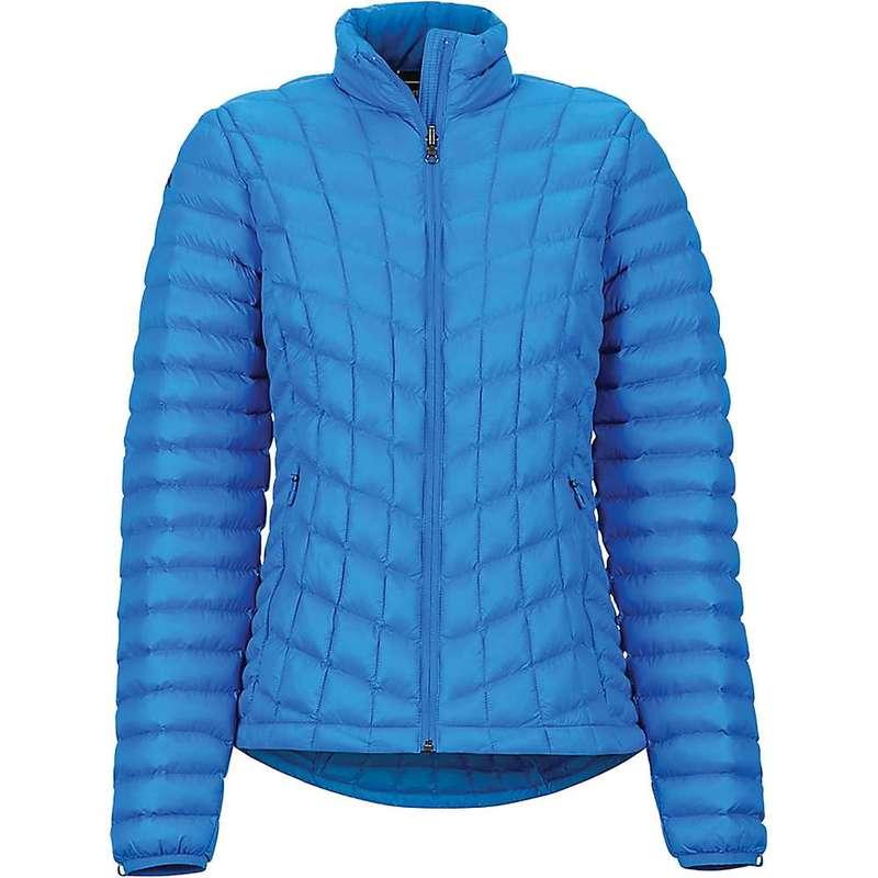マーモット レディース ジャケット・ブルゾン アウター Marmot Women's Marmot Featherless Jacket Clear Blue