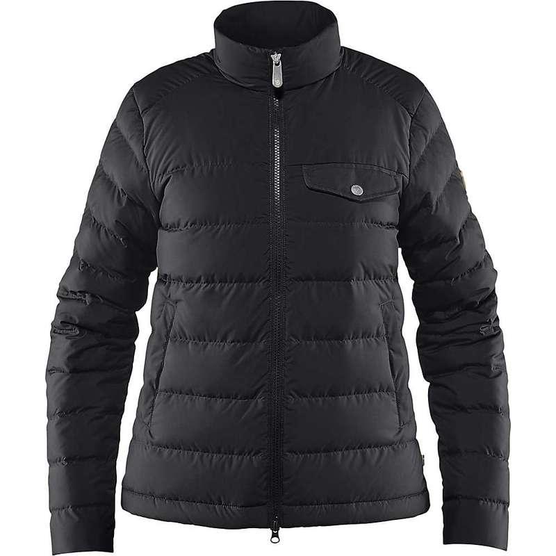フェールラーベン レディース ジャケット・ブルゾン アウター Fjallraven Women's Greenland Down Liner Jacket Black
