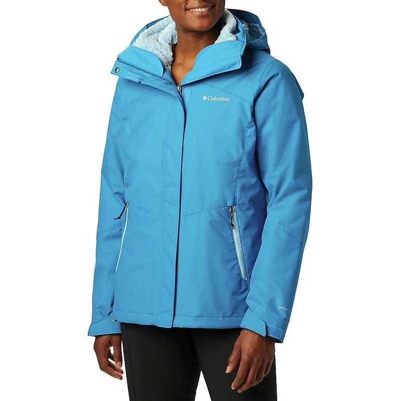 コロンビア レディース ジャケット・ブルゾン アウター Columbia Women's Bugaboo II Fleece Interchange Jacket Fathom Blue / Crystal Blue / Fathom Blue