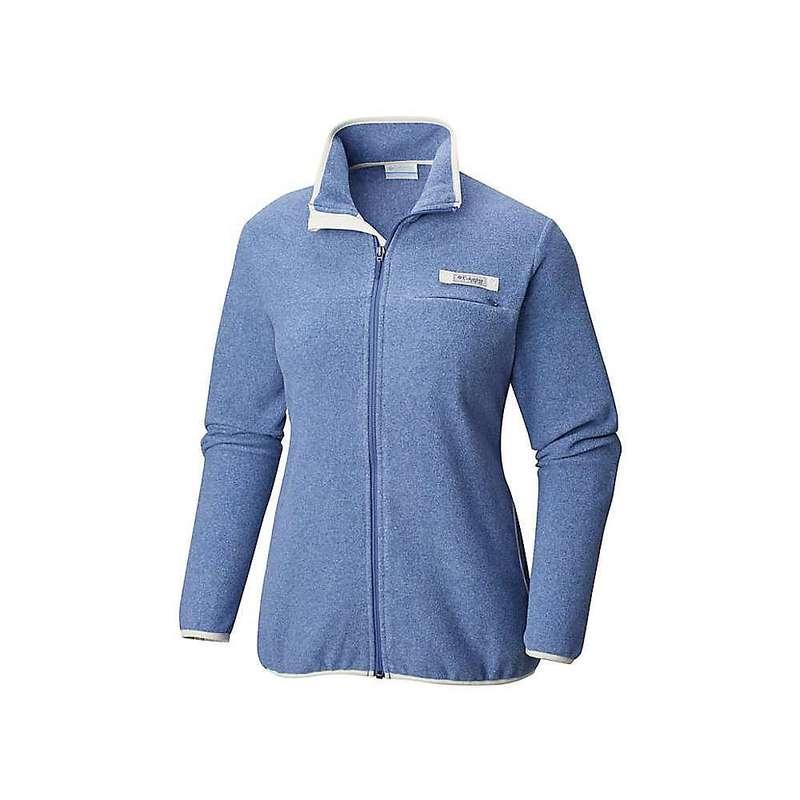 コロンビア レディース ジャケット・ブルゾン アウター Columbia Women's Harborside Fleece Full Zip Jacket Bluebell / Stone