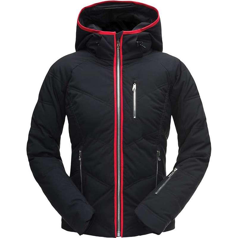 スパイダー レディース ジャケット・ブルゾン アウター Spyder Women's Fleur Jacket Black / Black / Hibiscus