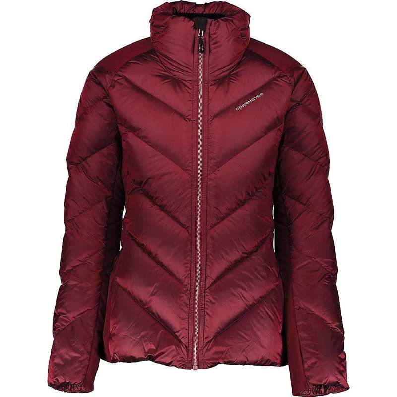 オバマイヤー レディース ジャケット・ブルゾン アウター Obermeyer Women's Ion Stretch Jacket Major Red