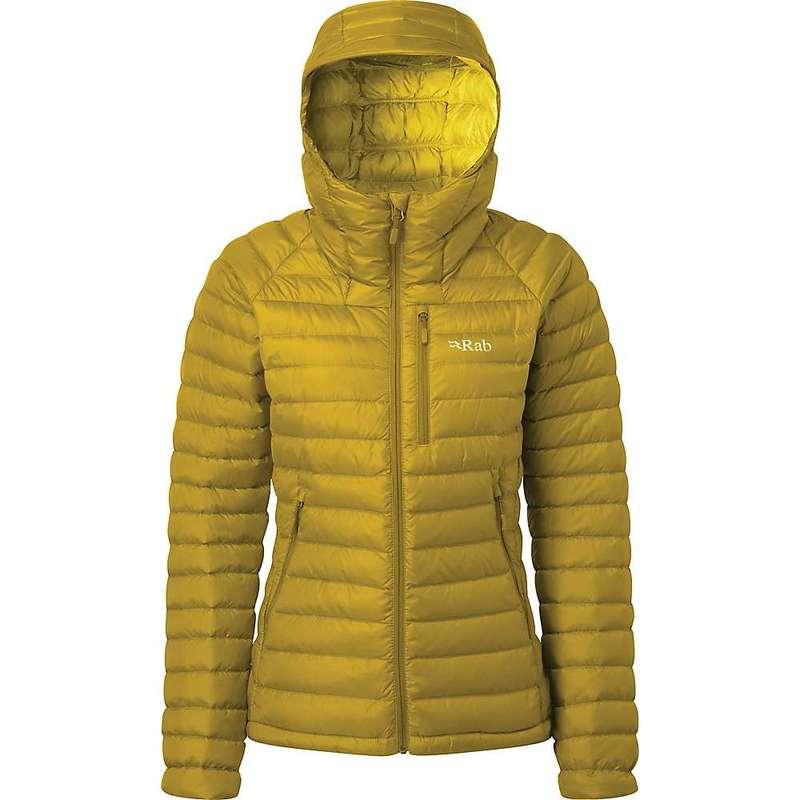 ラブ レディース ジャケット・ブルゾン アウター Rab Women's Microlight Alpine Jacket Dark Sulphur
