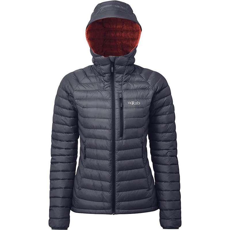 ラブ レディース ジャケット・ブルゾン アウター Rab Women's Microlight Alpine Jacket Steel / Passata