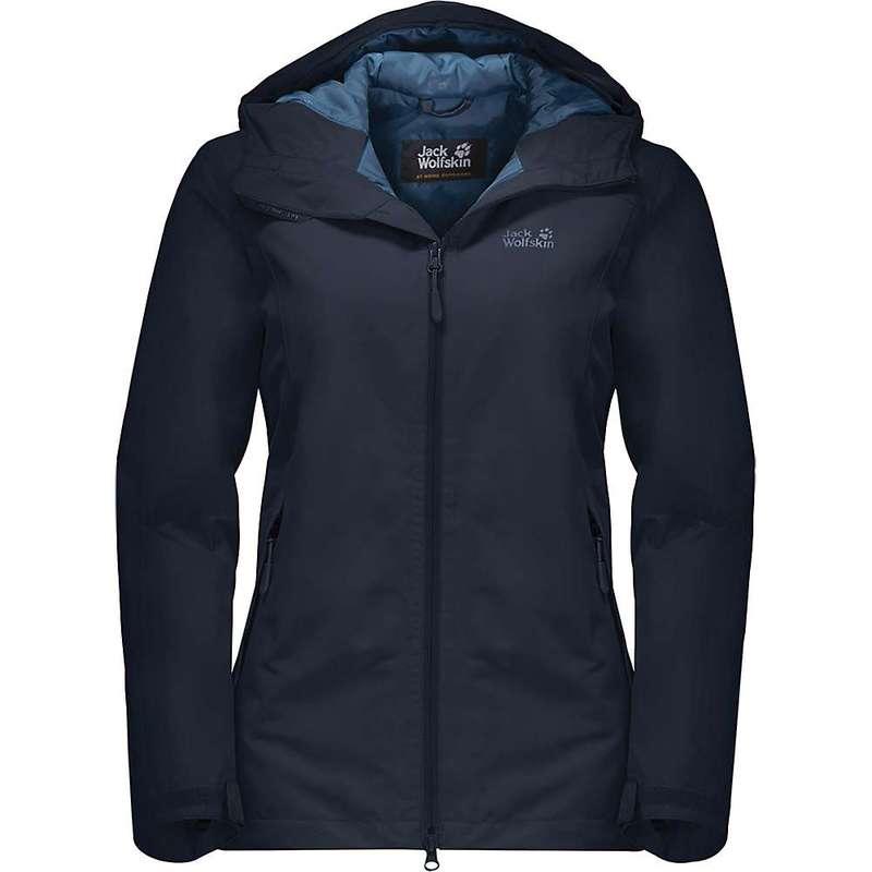 ジャックウルフスキン レディース ジャケット・ブルゾン アウター Jack Wolfskin Women's Chilly Morning Jacket Midnight Blue