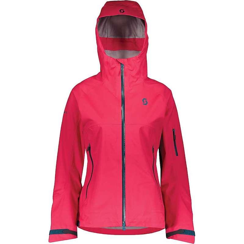 スコット レディース ジャケット・ブルゾン アウター Scott USA Women's Explorair 3L Jacket Hibiscus Red