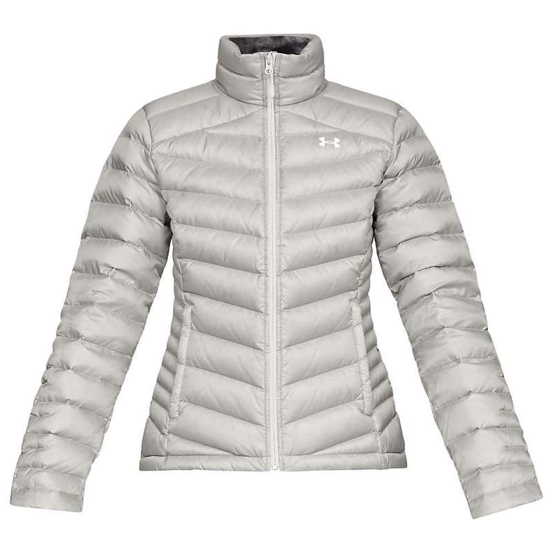 アンダーアーマー レディース ジャケット・ブルゾン アウター Under Armour Women's Iso Down Sweater Ghost Gray / Charcoal / White