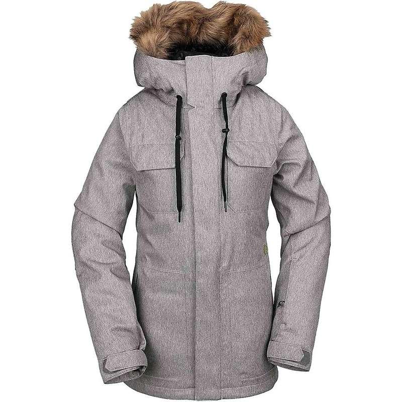 ボルコム レディース ジャケット・ブルゾン アウター Volcom Women's Shadow Insulated Jacket Heather Grey