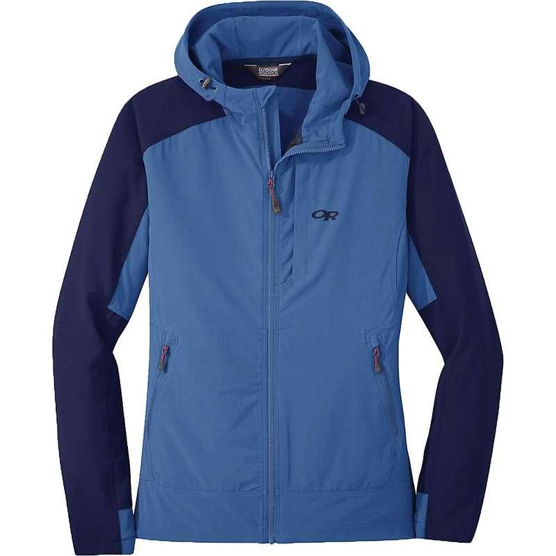 アウトドアリサーチ レディース ジャケット・ブルゾン アウター Outdoor Research Women's Ferrosi Hooded Jacket Chambray / Twilight