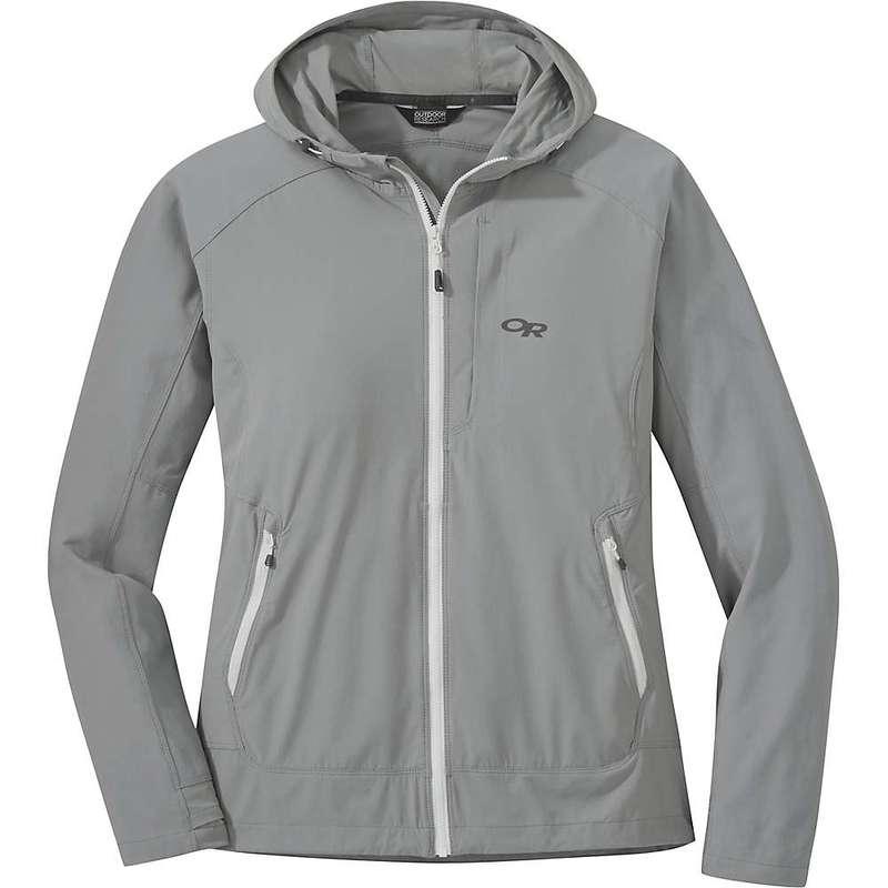 アウトドアリサーチ レディース ジャケット・ブルゾン アウター Outdoor Research Women's Ferrosi Hooded Jacket Light Pewter