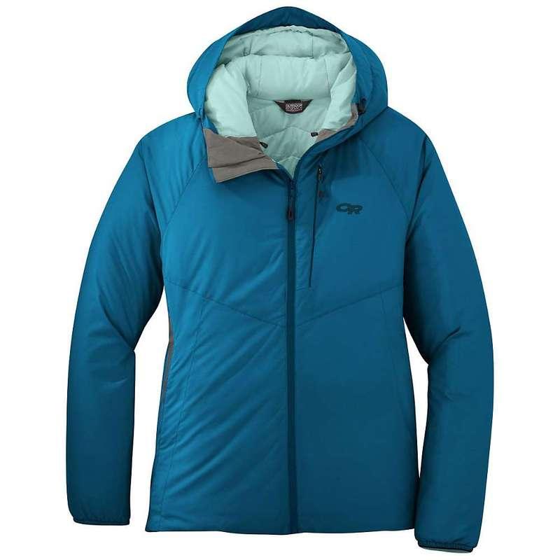 アウトドアリサーチ レディース ジャケット・ブルゾン アウター Outdoor Research Women's Refuge Hooded Jacket Celestial Blue