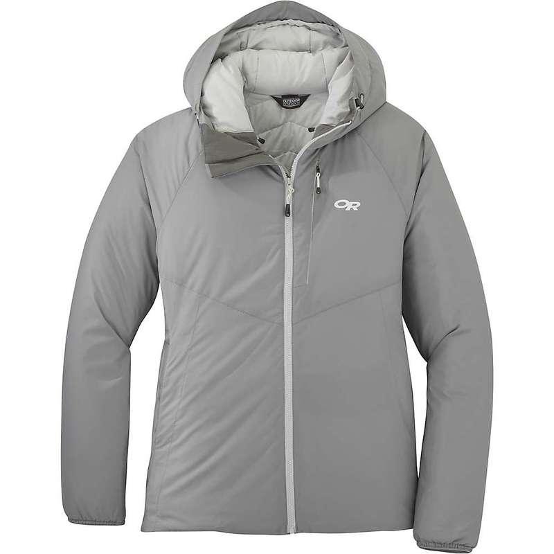 アウトドアリサーチ レディース ジャケット・ブルゾン アウター Outdoor Research Women's Refuge Hooded Jacket Light Pewter