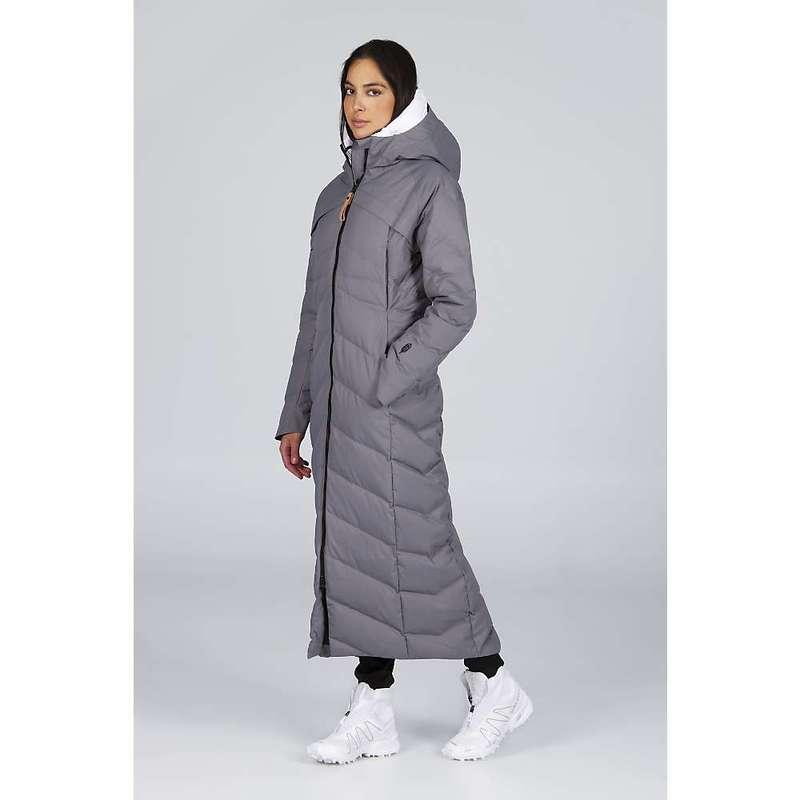 インデジェナ レディース ジャケット・ブルゾン アウター Indygena Women's Komura Jacket Grey Quiet Shade