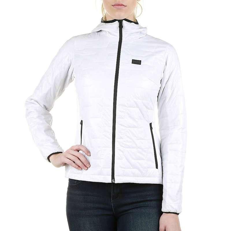 ヘリーハンセン レディース ジャケット・ブルゾン アウター Helly Hansen Women's Lifaloft Hooded Insulator Jacket White