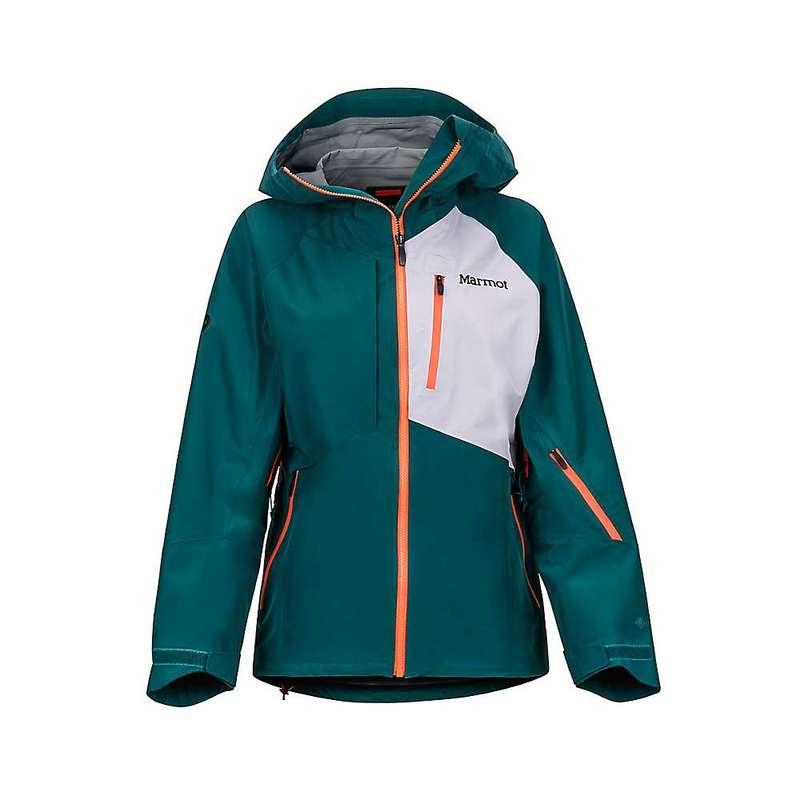 マーモット レディース ジャケット・ブルゾン アウター Marmot Women's Bariloche Jacket Deep Teal / Lavender Aura