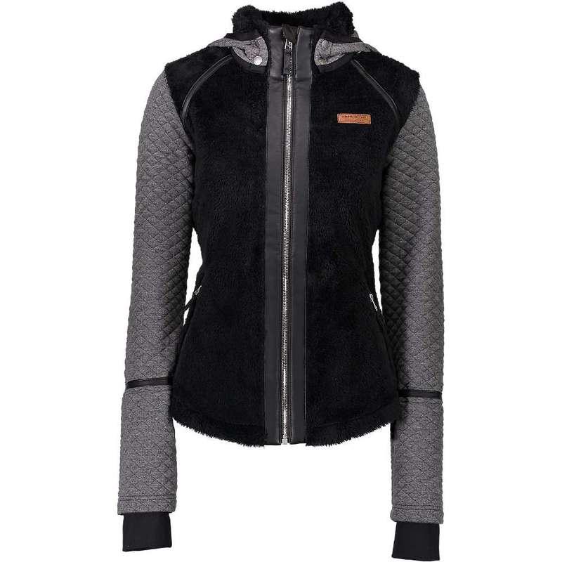 オバマイヤー レディース ジャケット・ブルゾン アウター Obermeyer Women's Stella Fleece Jacket Black
