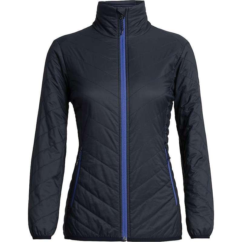 アイスブレーカー レディース ジャケット・ブルゾン アウター Icebreaker Women's Hyperia Lite Jacket Midnight Navy