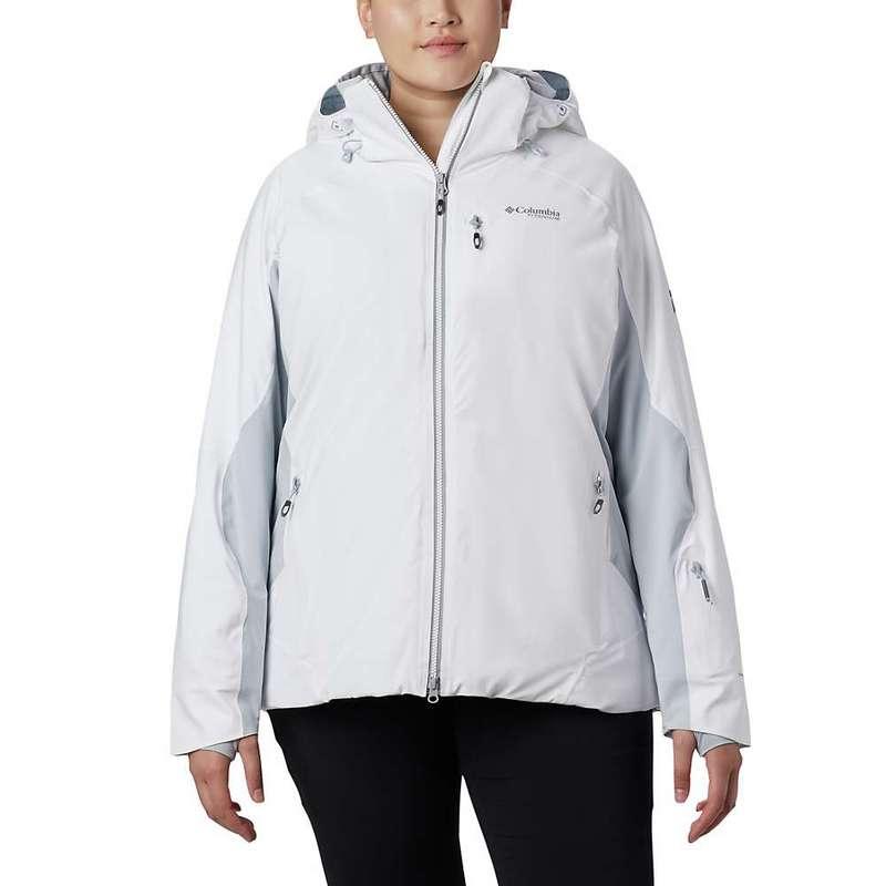 コロンビア レディース ジャケット・ブルゾン アウター Columbia Women's Titanium Snow Rival II Jacket White / Cirrus Grey