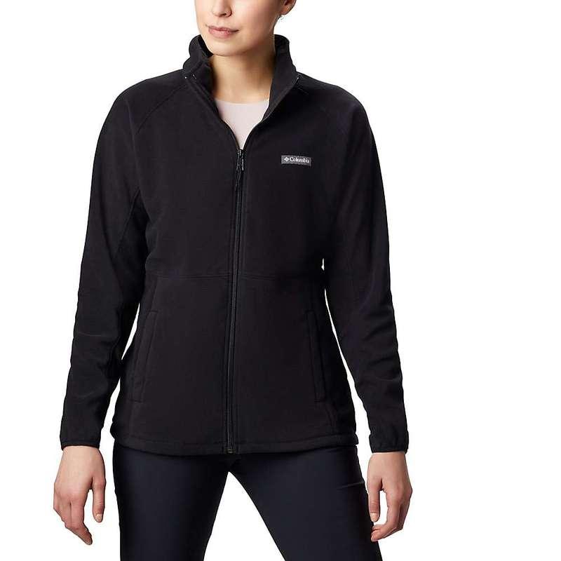 コロンビア レディース ジャケット・ブルゾン アウター Columbia Women's Basin Trail Fleece Full Zip Black