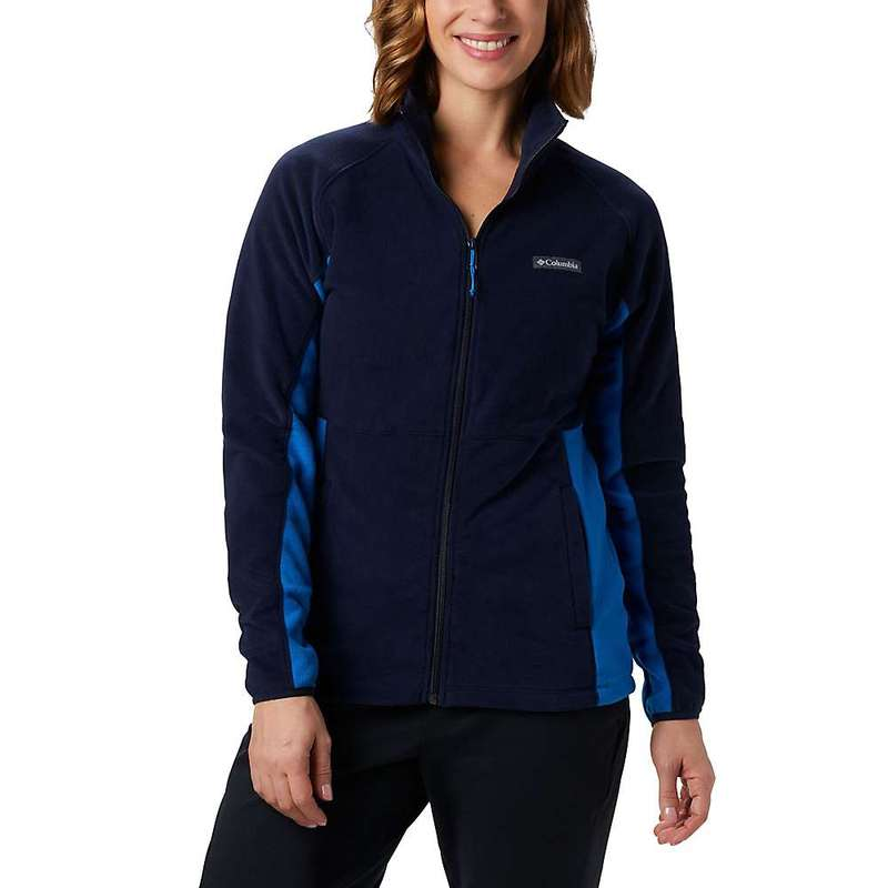 コロンビア レディース ジャケット・ブルゾン アウター Columbia Women's Basin Trail Fleece Full Zip Dark Nocturnal / Fathom Blue