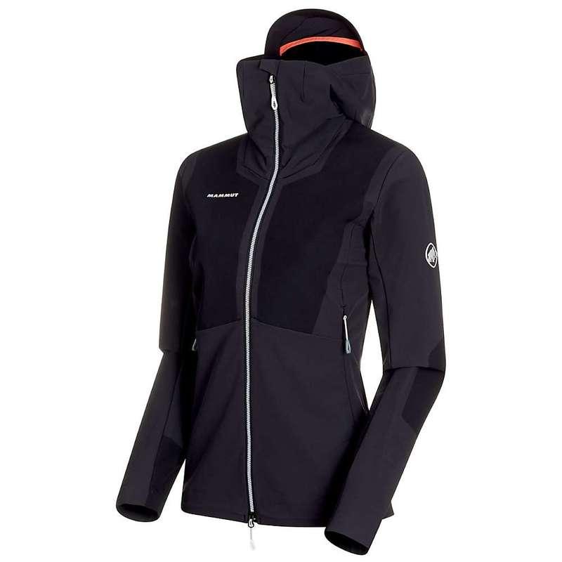 マムート レディース ジャケット・ブルゾン アウター Mammut Women's Aenergy Pro SO Hooded Jacket Black