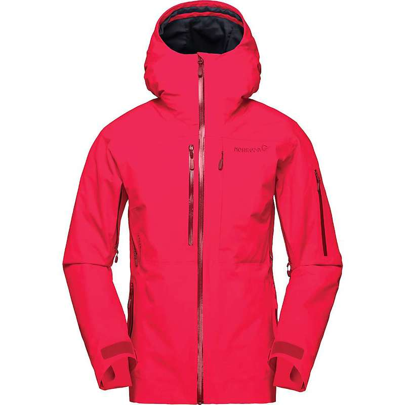 ノローナ レディース ジャケット・ブルゾン アウター Norrona Women's Lofoten Gore-Tex Insulated Jacket Crisp Ruby
