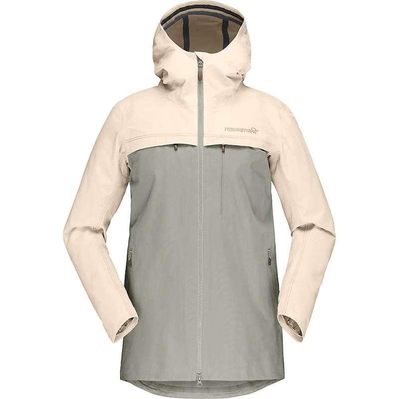 ノローナ レディース ジャケット・ブルゾン アウター Norrona Women's Svalbard Cotton Jacket Ecru / Sandstone