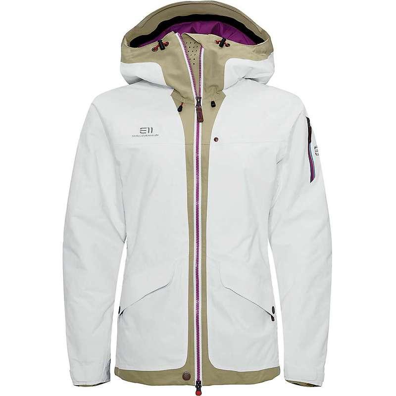 エレべネート レディース ジャケット・ブルゾン アウター Elevenate Women's Brevent Jacket White