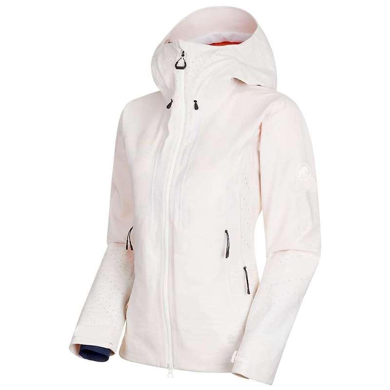 マムート レディース ジャケット・ブルゾン アウター Mammut Women's Sota HS Hooded Jacket Bright White