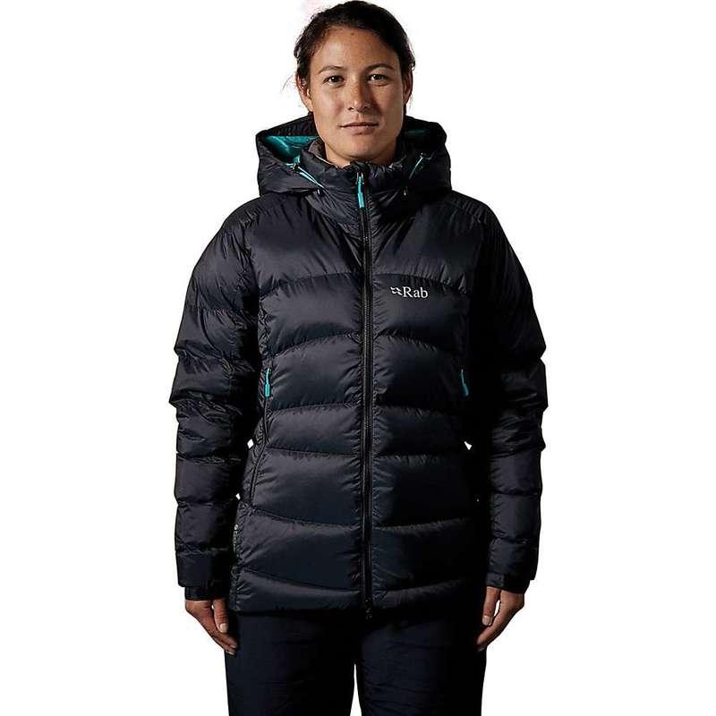 ラブ レディース ジャケット・ブルゾン アウター Rab Women's Ascent Jacket Black / Seaglass